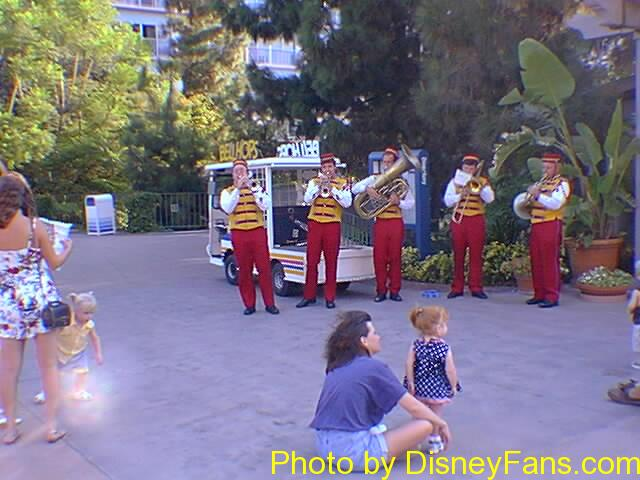 Disneyland Hotel in 1996.
