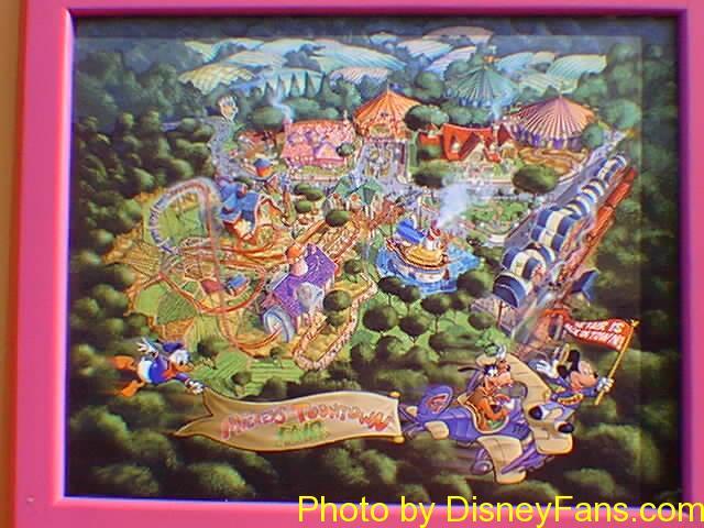 Mickey's Toontown Fair in 1996