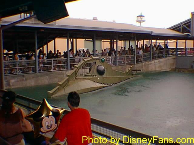 Disney/MGM Studios Backlot Tour in 1996